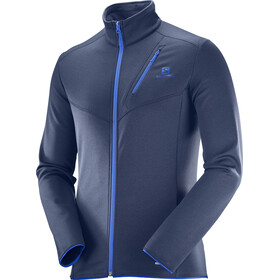 Salomon M's Discovery FZ Jacket Dress Blue